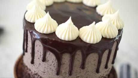 chocolate cake with oreo cream filling recipe