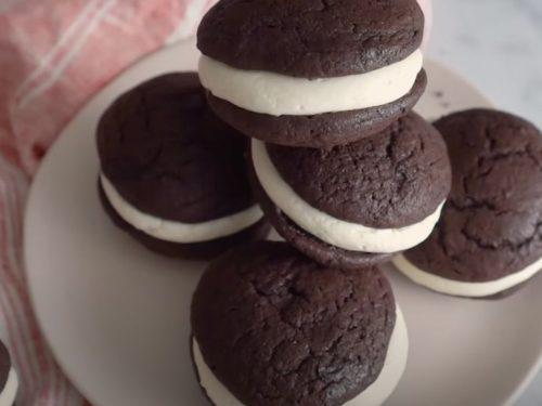 Chocolate Coconut Whoopie Pies Recipe