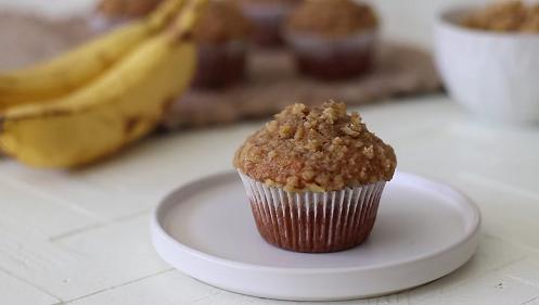 classic banana muffins