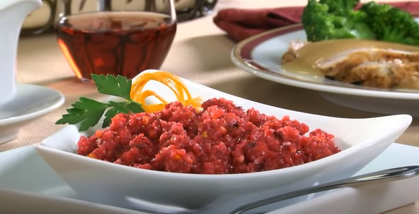 Cranberry Pecan Relish Recipe