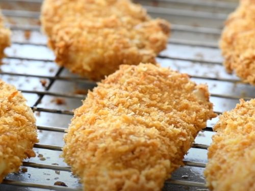crunchy no-fry chicken recipe