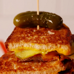 dill pickle bacon grilled cheese recipe