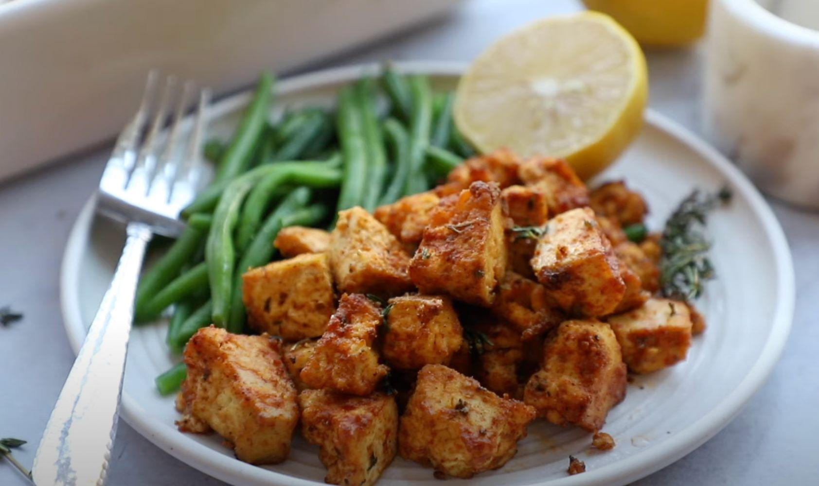 Double-Soy Ginger Tofu Recipe
