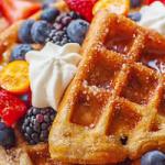 easy churro waffles recipe