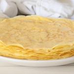 easy homemade crepes recipe