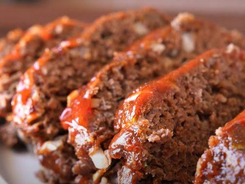 Easy Italian Meatloaf Recipe