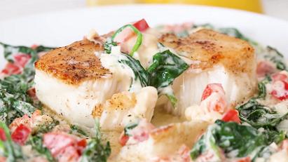 fish florentine recipe