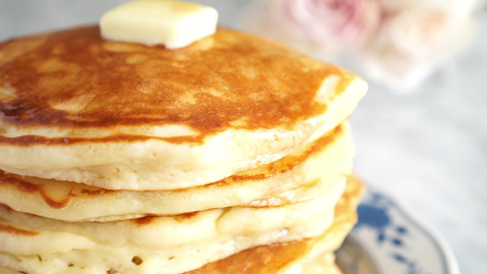 fluffy and delicious pancakes recipe