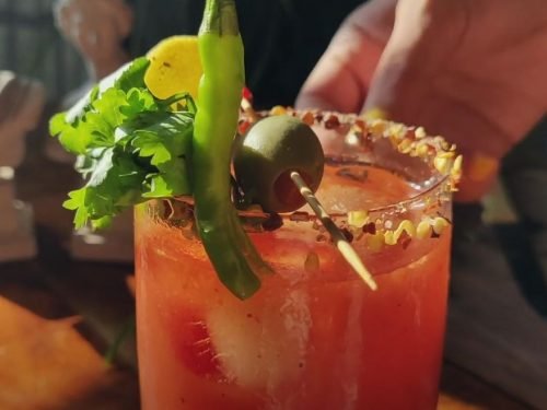 Fresh Tomato Bloody Marys Recipe