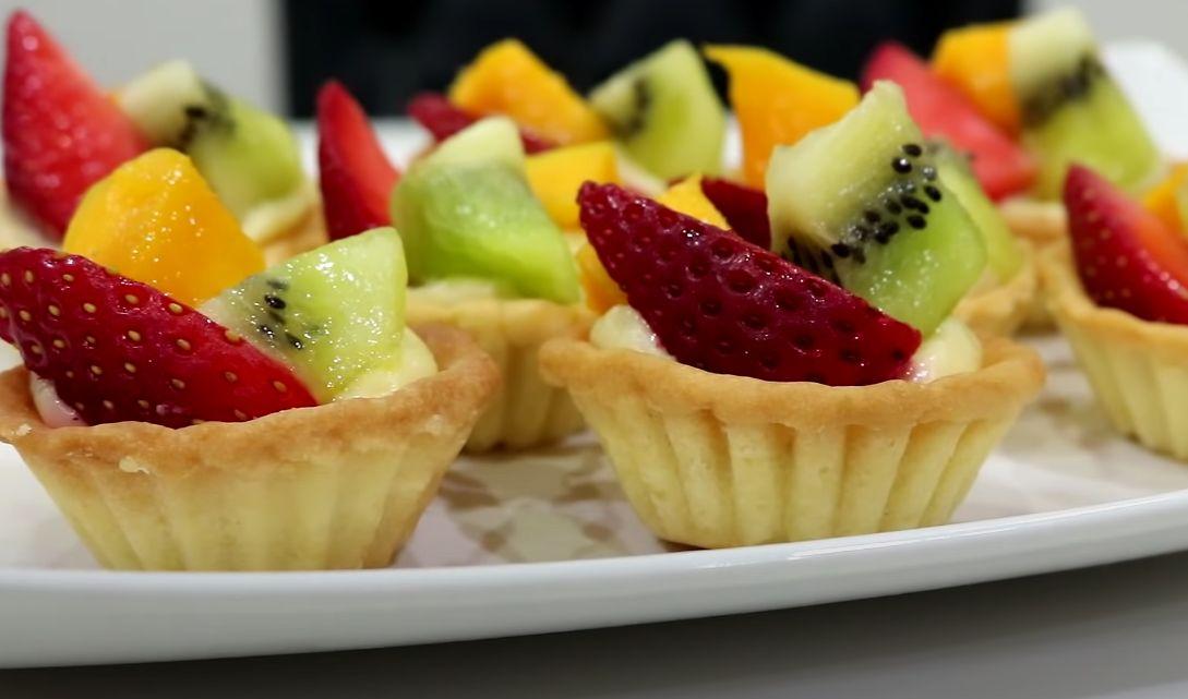 Fruit Tart with Almond Piecrust Recipe