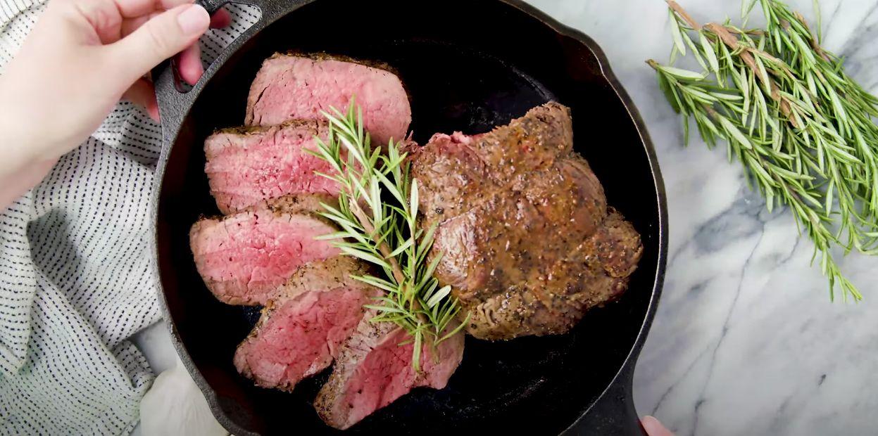 Garlic Herb Butter Beef Tenderloin Recipe