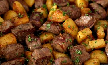 Garlic Herb Steak Bites Recipe