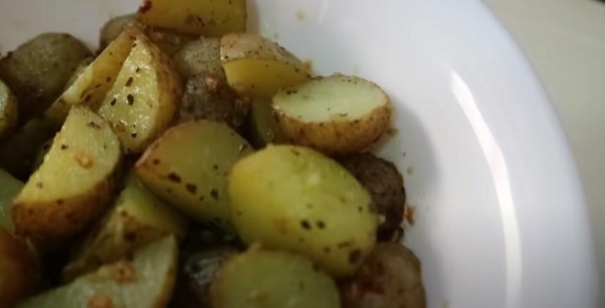 Garlic New Potatoes Recipe