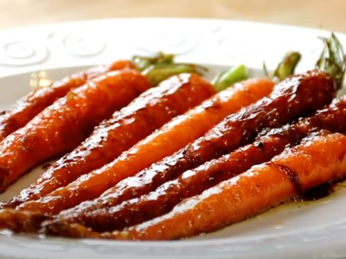 Glazed Carrots with Cardamom and Ginger Recipe