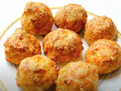 Gougères (French Cheese Puffs) Recipe