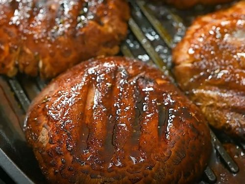 Grilled Honey Balsamic Portobello Mushrooms Recipe