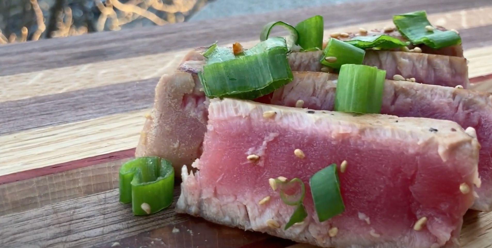 Grilled Niçoise Tuna Steaks Recipe