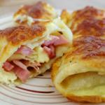 ham and cheese oven puffed pancake recipe