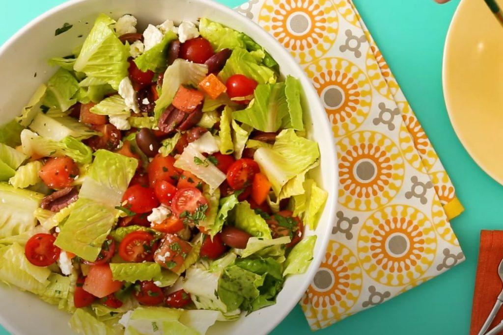 Heirloom Tomato and Watermelon Salad Recipe