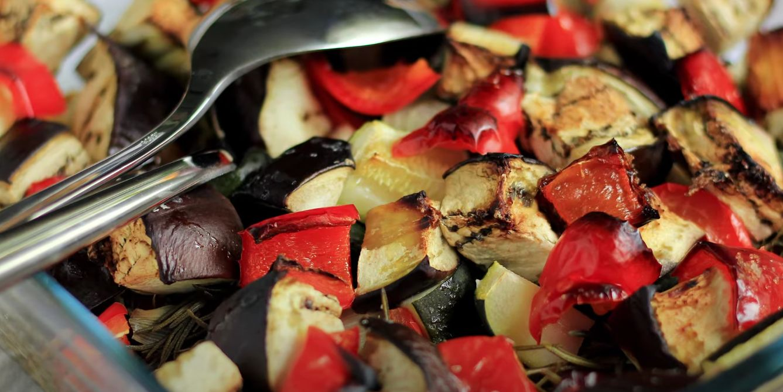 italian roasted veggies recipe