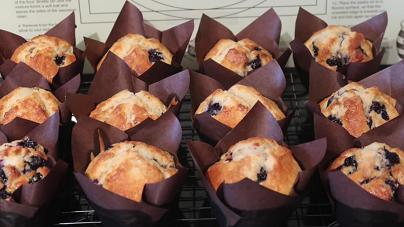 jumbo blueberry muffins recipe