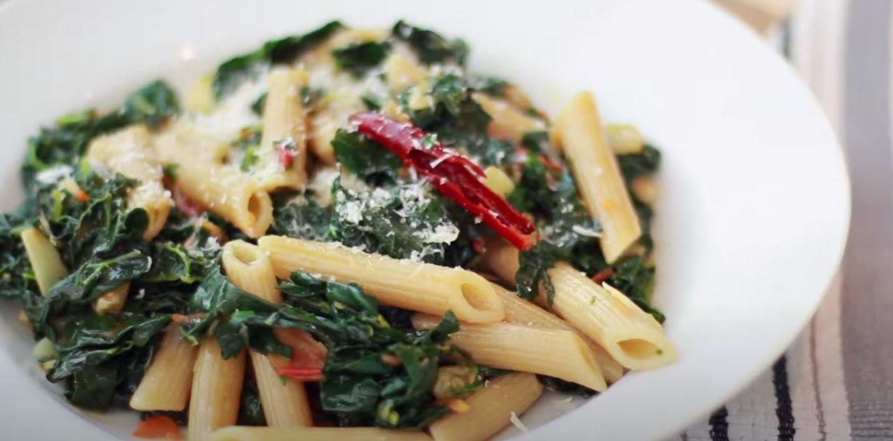 Kale Pasta Salad Recipe