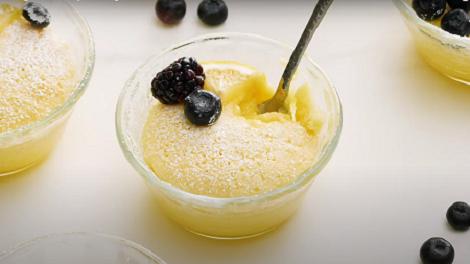 lemon pudding cakes recipe