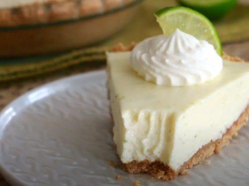 Lime-Pistachio Tart Recipe