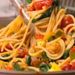 linguini with vegetables recipe