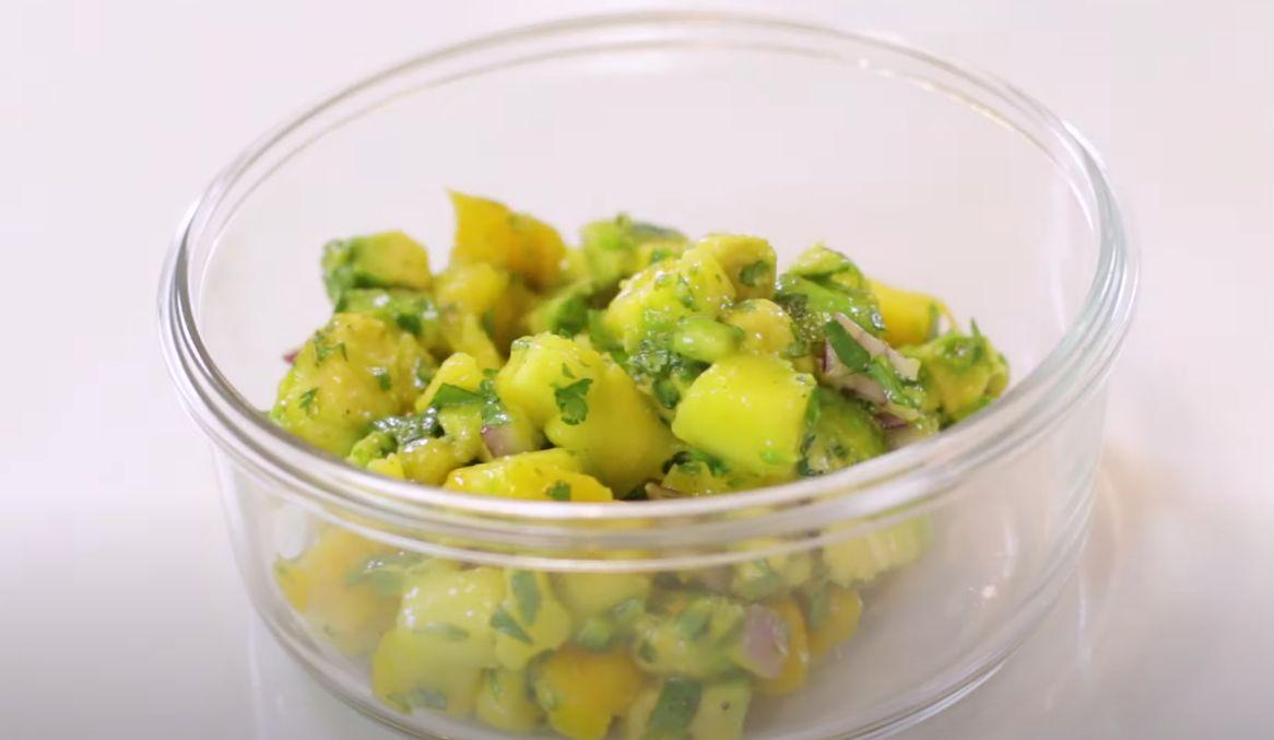 Mango Lime Salsa Recipe