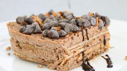 mini chocolate icebox cake recipe