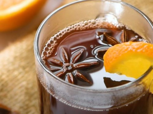 Mulled Red Wine with Muscovado Sugar Recipe