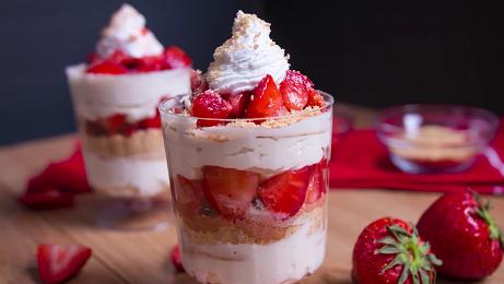 no bake cheesecake parfaits recipe