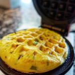 omelet waffles recipe
