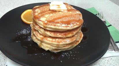orange poppyseed pancakes recipe