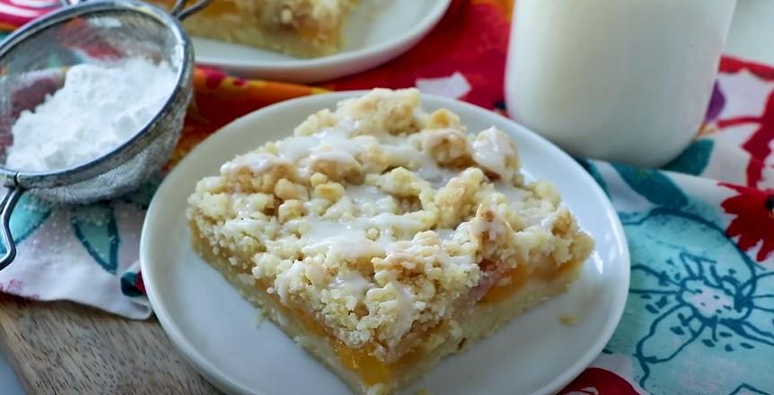 Peach Bars Recipe