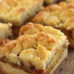 peach cobbler bars recipe