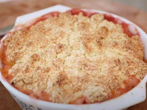 Peach-Lavender Cobbler Recipe