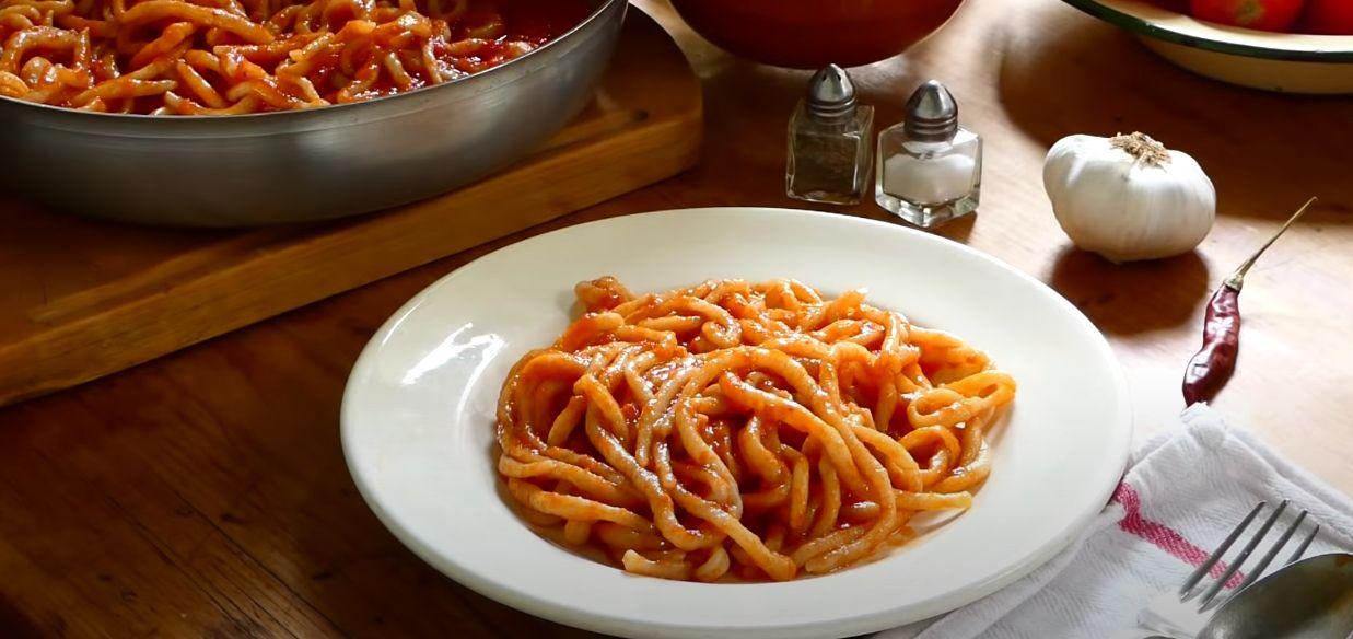 Pici Pasta with Lamb Sauce Recipe