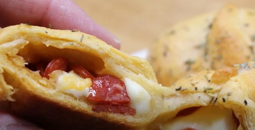 Pizza Roll Ups Recipe