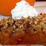 pumpkin crunch pie recipe