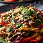 quick peanut soba noodles recipe