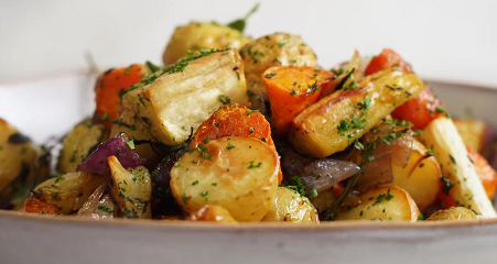 roasted vegetable with aioli recipe