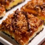 samoa cheesecake bars recipe