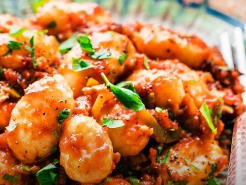 Sausage Tomato Gnocchi Recipe