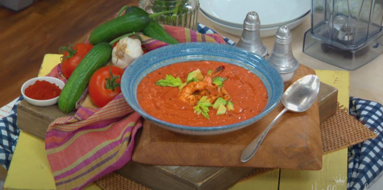 Shrimp Gazpacho Recipe