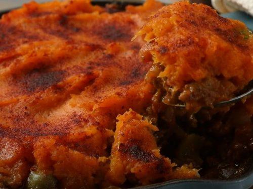 Skillet Sweet Potato Shepherd's Pie Recipe