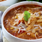 slow cooker enchilada soup recipe