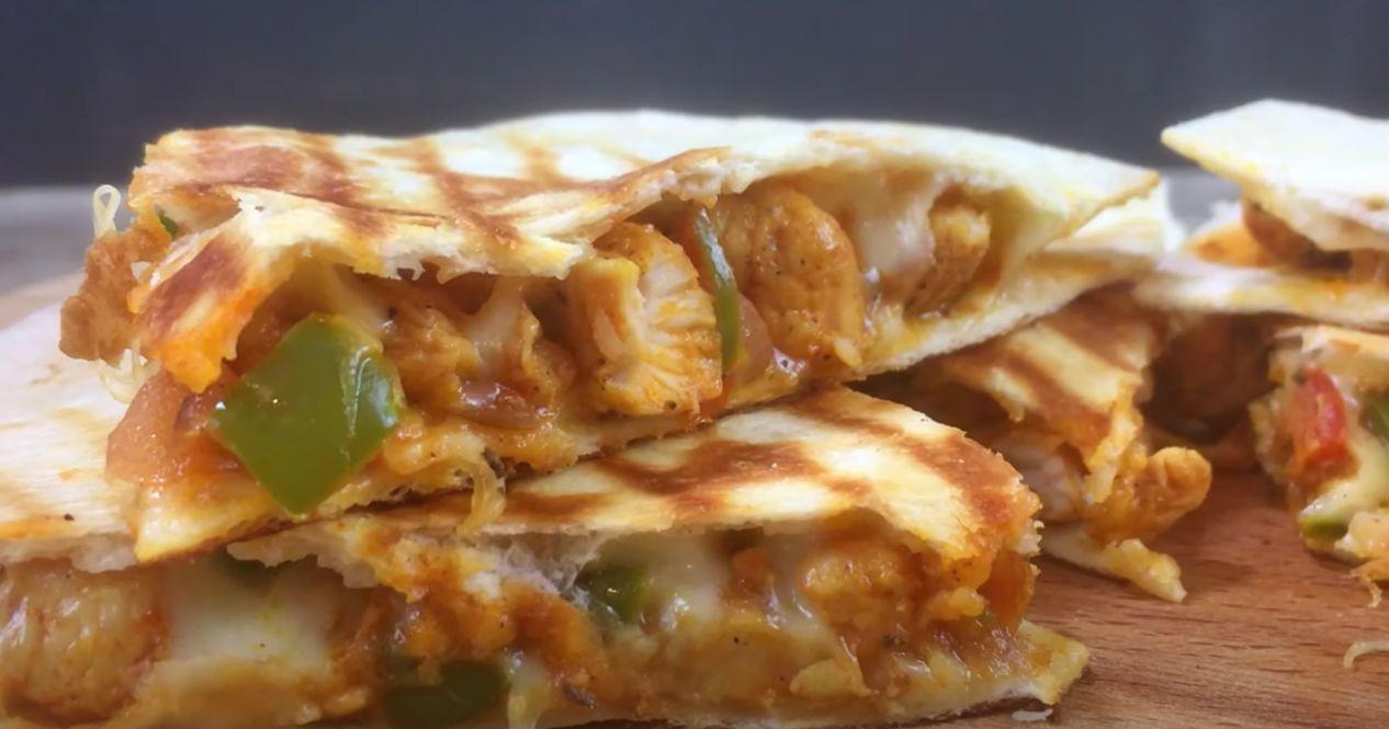 Spicy Grilled Quesadillas Recipe