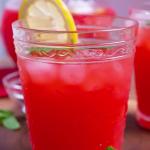 stevia sweetened strawberry lemonade recipe